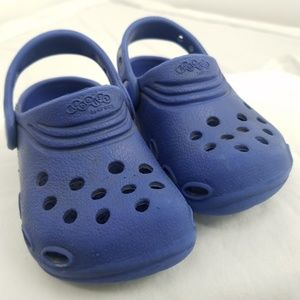 Jibitz by Crocs Kids size XS 6/7 Blue Shoes Sandal